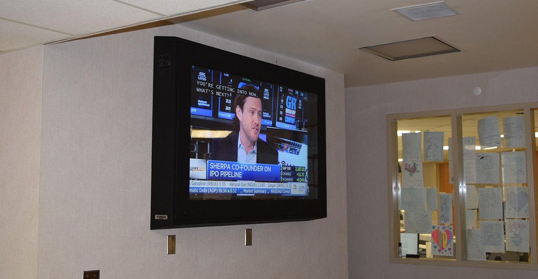 Anti-Ligature TV Enclosure