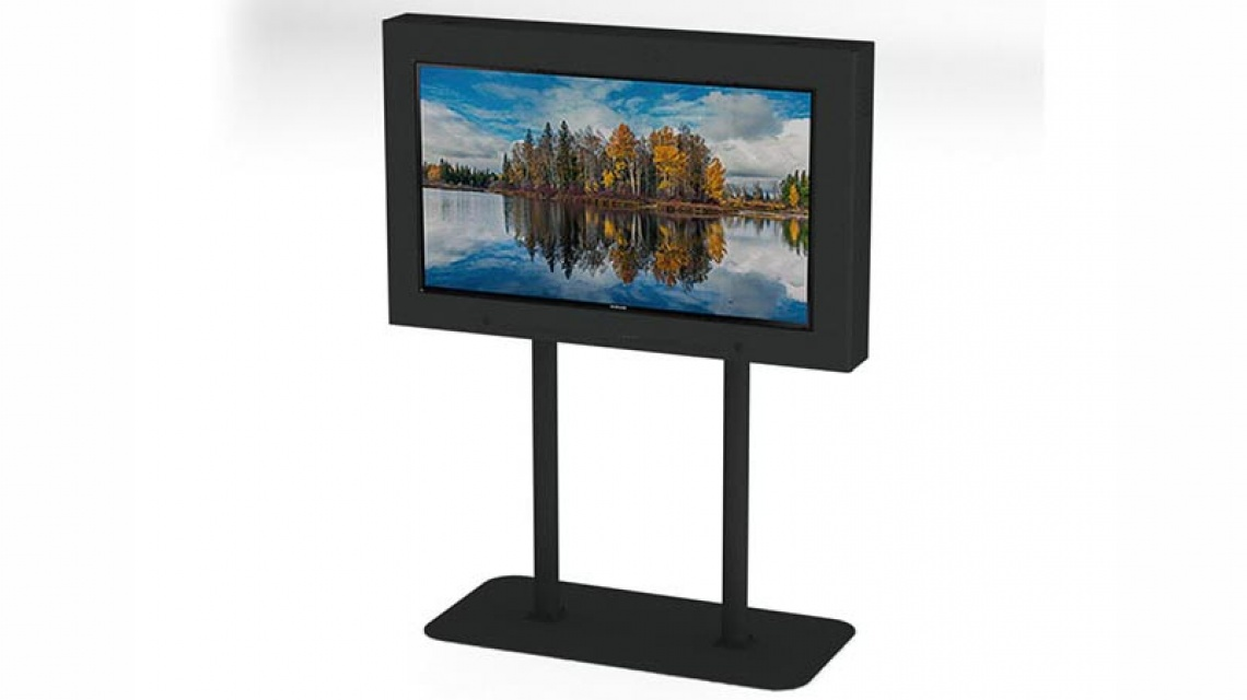 Waterproof, Outdoor TV Enclosure w/ Pedestal Stand | LCD Enclosures