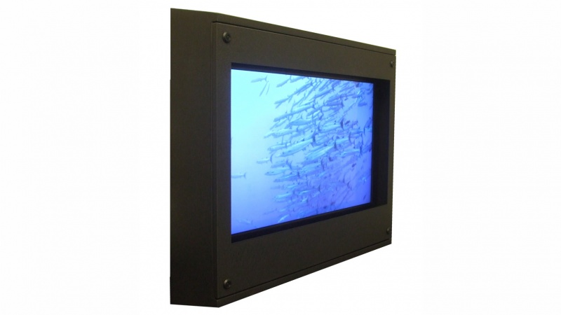 Sloped Top Tv Enclosures Anti Ligature Lcd Enclosures