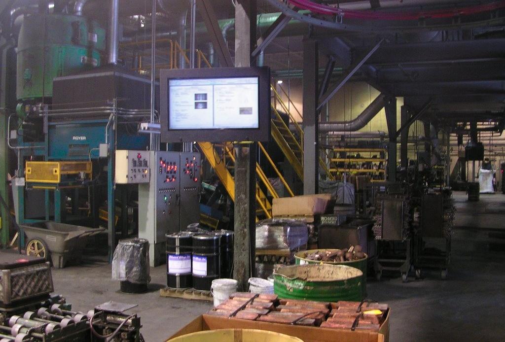 Factory LCD Enclosure
