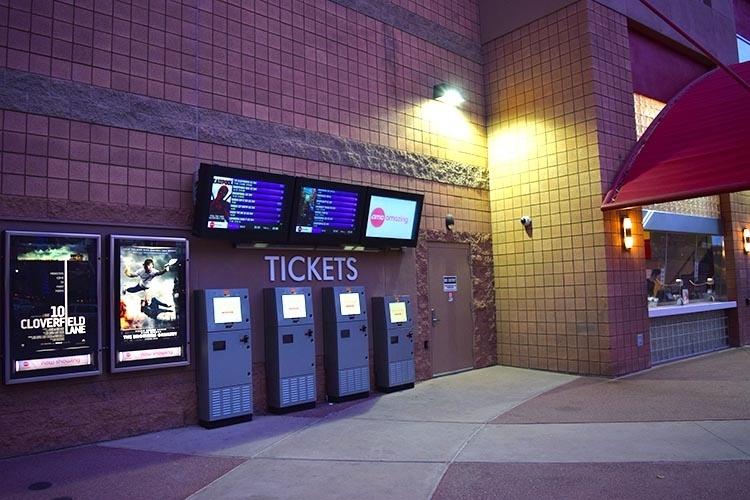 AMC Movie Theater LCD Enclosures