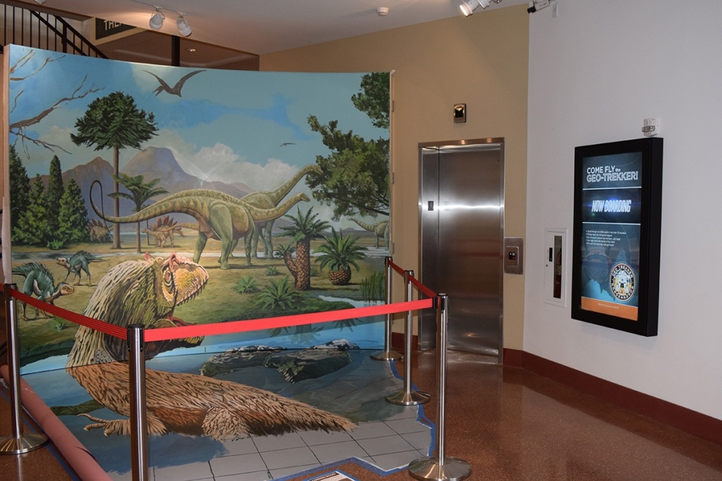 LCD Enclosure installed at a visitor's center.