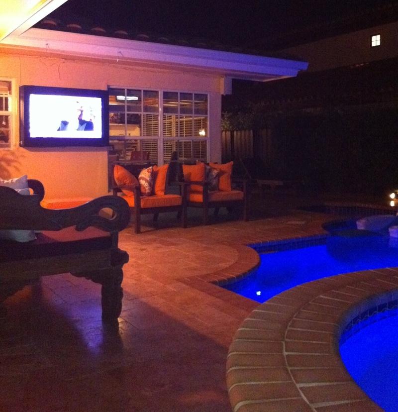 Waterproof TV Enclosure